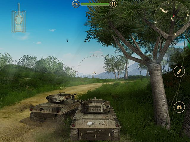 Battle Supremacy Brings Tank Warfare To iOS, But Is It Any Good? bs tank2