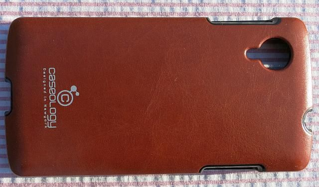 caseology leather case