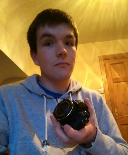 Connor, with the Olympus OM-D E-M10 mirrorless camera