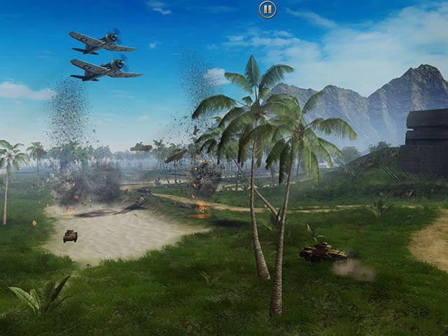 Battle Supremacy Brings Tank Warfare To iOS, But Is It Any Good? cutscene