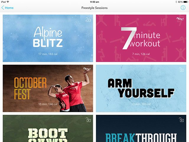 Forget The Gym, Get Fitstar Fit With Your iPad Or iPhone freestyle