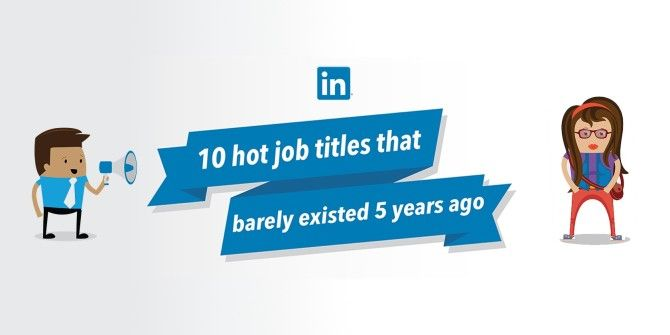 10 Job Titles That Didn't Exist 5 Years Ago