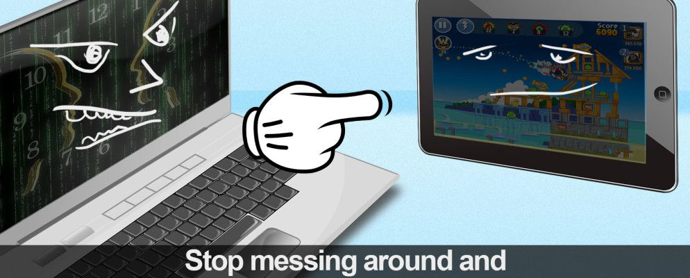 It's Not Just For Angry Birds: Preparing Your Tablet for Productivity