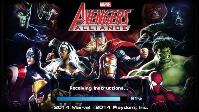 Avengers Alliance Brings Marvel Superheroes To Your Android Or iPhone