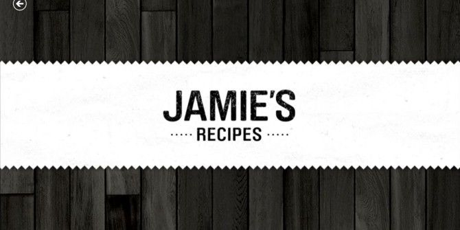 Cook with Jamie Oliver On Your Windows 8 PC or Tablet