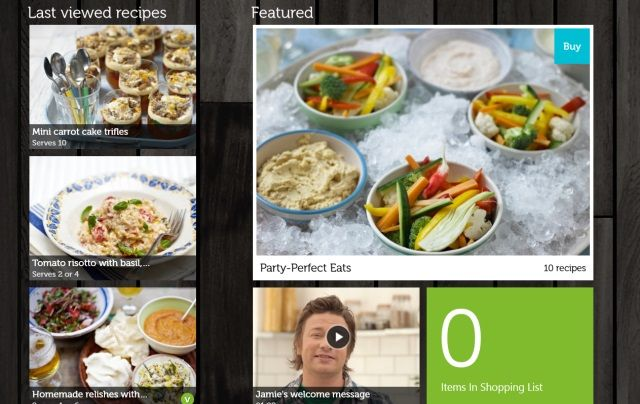 Cook with jamie oliver on your windows 8 pc or tablet muo w8 app review jamie oliver recipes list forumfinder Image collections