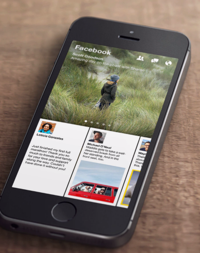 Facebook To Launch A Curated Visual News Reader Called Paper paper1