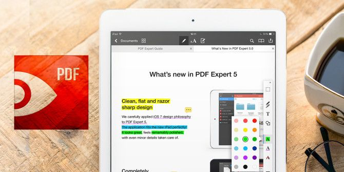 View & Edit PDF Files On Your iPad With PDF Expert 5