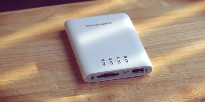 RAVPower RP-WD01 Wireless File Hub and Power Bank Review and Giveaway