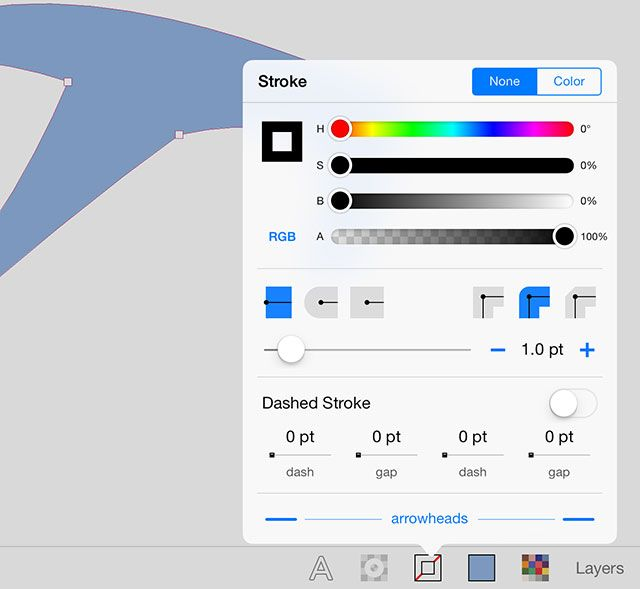Free iPad Vector Drawing App Inkpad Might Turn You Into A Designer Yet stroke