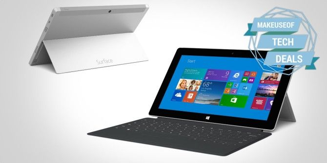 Get A Cheap Microsoft Surface Pro and More [Tech Deals]