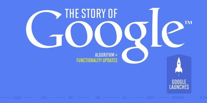 The Story Of Google: Algorithm and Functionality Updates