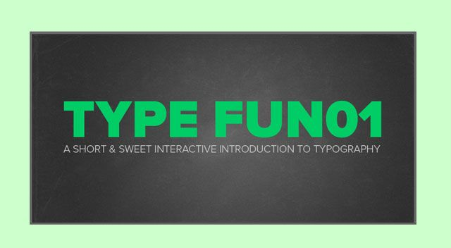 Typographic Guide - TypeFun