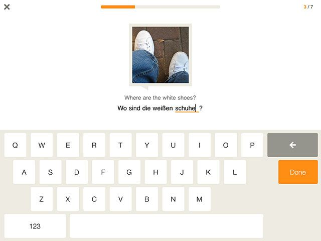 Study a Language From Your PC, Phone or Tablet With Babbel white shoes