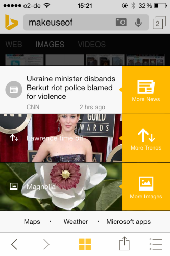 Bing for iPhone Gets Some New Features For You To Fiddle With 2014 02 26 15