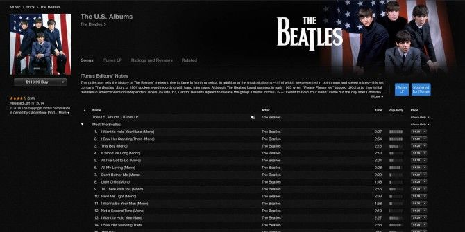 Apple Releases 13 Remastered Beatles Albums for 50th US Anniversary