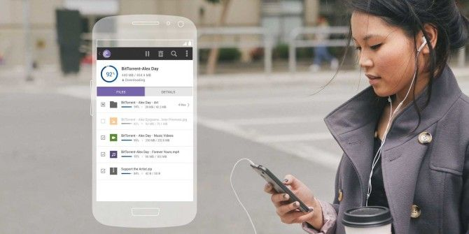 BitTorrent Revamps Android App With Easier File Sharing