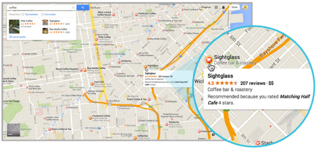 The New Google Maps Finally Comes Out Of Beta Screen Shot 2014 02 20 at 15