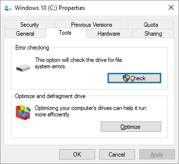 windows-10-error-checking