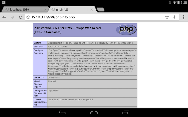 android-dev-php