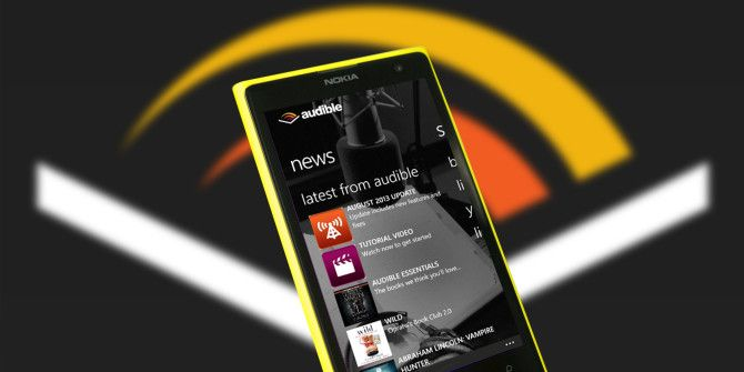 Enjoy Audiobooks On Your Windows Phone With Audible