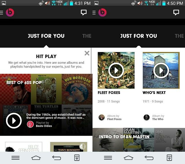 beats music just for you