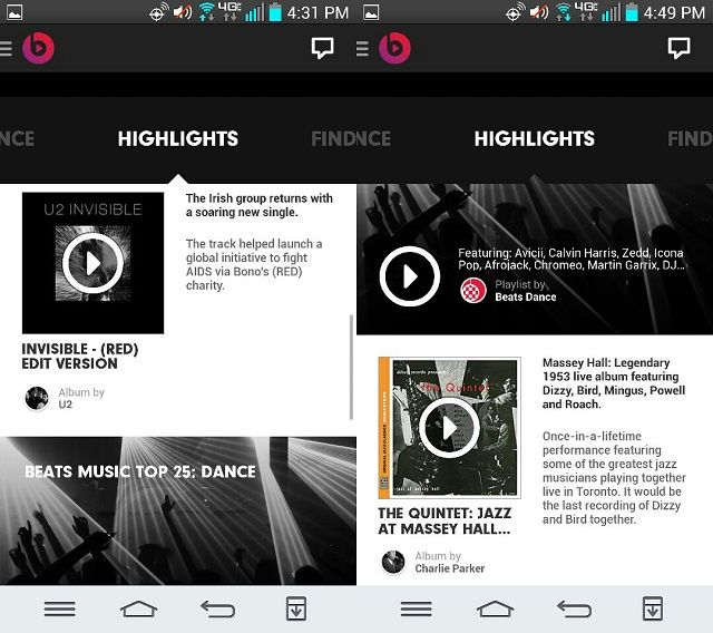 The Algorithm is People!  Rocking out with Beats Music for Android beatsmusic7