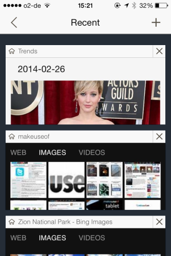 Bing for iPhone Gets Some New Features For You To Fiddle With bingsearches 333x500