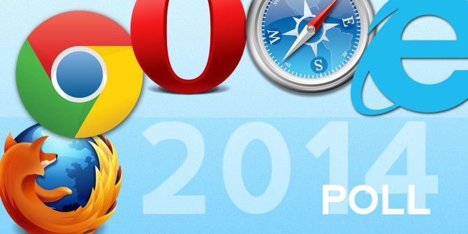 Which Is the Best Desktop Browser? 2014 Edition [MakeUseOf Poll]