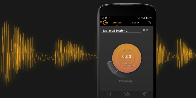 Cogi Voice Recorder:  Save All of The Highlights, None of The Noise
