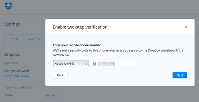 Lock Down These Services Now With Two-Factor Authentication dropbox 2fa