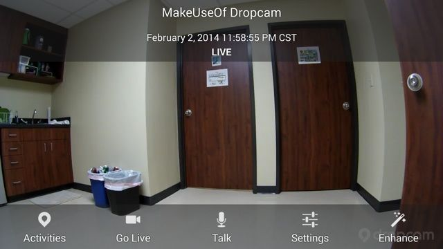 dropcam pro wifi security camera review