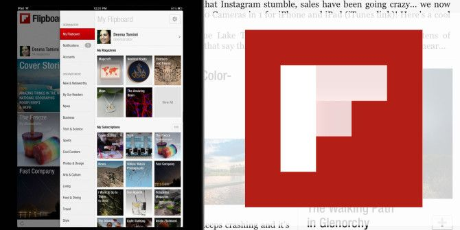 Find Cover Stories Better Organized By Source, Social Network, &Topic On Flipboard
