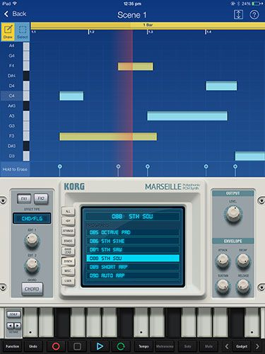 KORG Gadget Is A 15-Synth Strong Mini Studio For iPad gadget marseille1