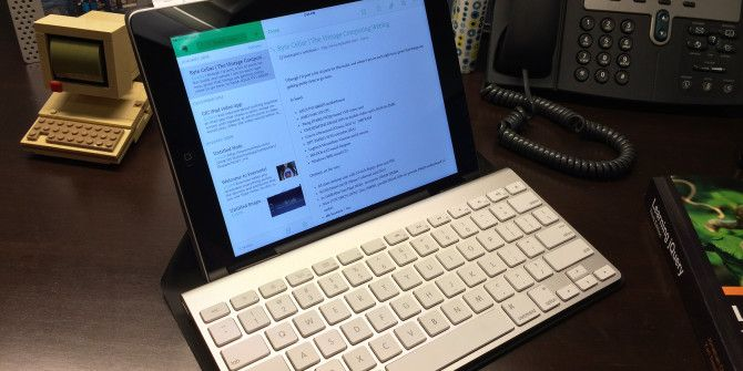 Turn Your iPad Into A Mobile Writing Workstation
