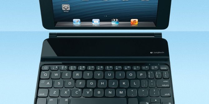 4 Mini Bluetooth Keyboards For iPad mini Typists