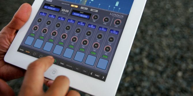 A Quick Look At The iPad As A Music Production Tool