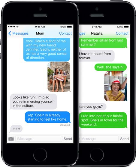 6 Secure iOS Messaging Apps That Take Privacy Very Seriously messages imessages