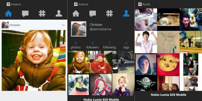 Instance: An Unofficial Instagram Client for Windows Phone