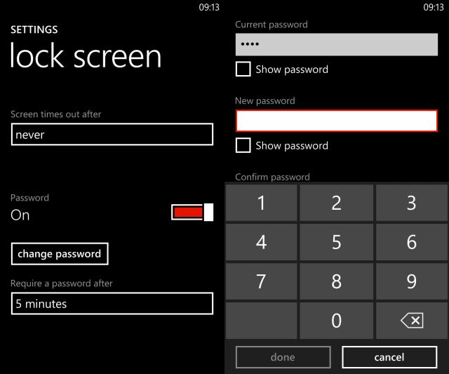 Как настроить экран блокировки в Windows Phone 8? | 533x640