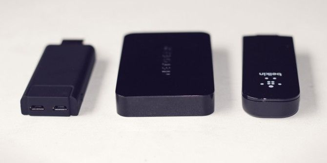 Netgear PTV3000, Smallart PTV and Belkin Miracast Adapters Review and Giveaway
