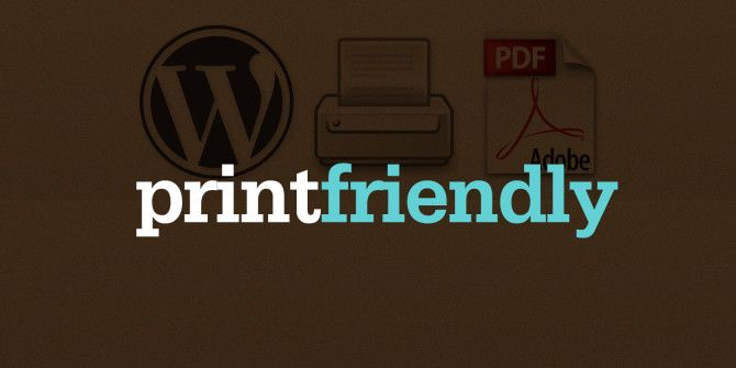 Make Your Website More Reader, Printer, And PDF Friendly With PrintFriendly