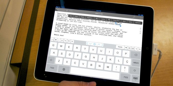 Word Processing On Your iPad? We Compare The Best Apps