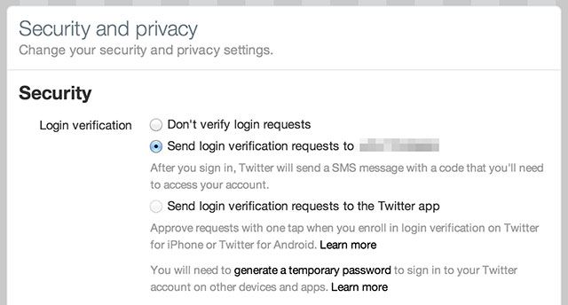 Lock Down These Services Now With Two-Factor Authentication twitter 2fa