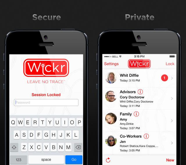 6 Secure iOS Messaging Apps That Take Privacy Very Seriously wickr