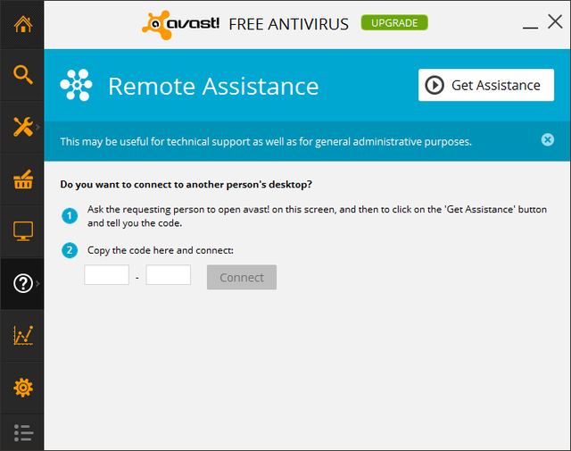 avast! - Help - remote asssistance