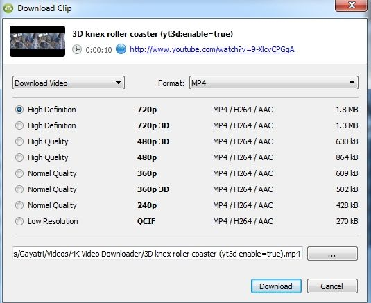 4K-Downloader-Download-YouTube-Other-Videos-Easily-3D-Videos