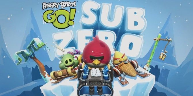 Chill Out With New Sub Zero Levels On Angry Birds Go!