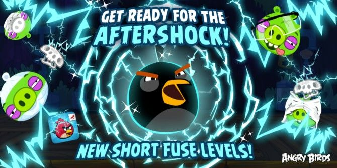 Rovio Launches Angry Birds Friends Tournament, 15 New Levels for Bomb Bird