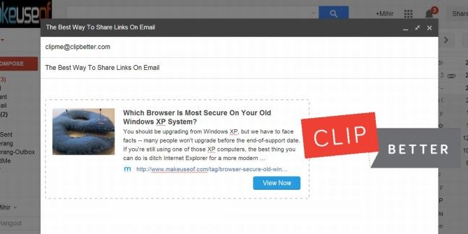 Emailing Links? Make Them Rich & Clickable With Clip Better